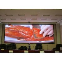 Quality P4 SMD2121 Outdoor LED Screen 1500-1800 Brightness , 768mm*768mm Cabinet Size for sale