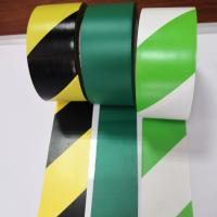 Quality Stripe Color Pvc Warning Tape Caution Tape Strong Adhesive Force Customized Size for sale