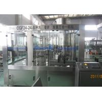Quality Glass Bottle 24 heads Sparkling Beverage Production Line With Speed 7000BPH for sale