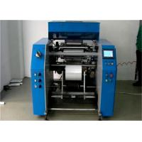 Quality 300mm Five-Shafts Cling Stretch Film Rolls Rewinding Machine With Automatic Alarm for sale