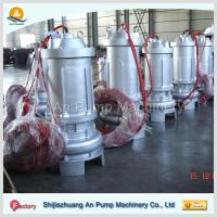 Quality waste water treatment submersible sewage pump for sale