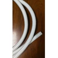 PVC Reinforced Corrugated Flexible Tubing Protective Sleeve Hose For Fiber Cable for sale