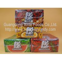 Quality Square Sweet Big Blast Bubble Gum Candy With Fruit Flavor , 4 G * 100 Pcs for sale