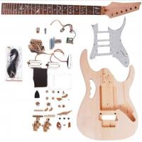 Quality Double Locking System Ibanez DIY Electric Guitar Kits With Pearl Loid Pickguard AG-IB2 for sale