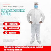 Quality Non Irritating Disposable Medical Gown Excellent Tensile With CE / FDA Certification for sale