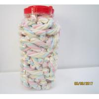 Quality Rope Shape Twisted Marshmallow Candy , Gourmet Marshmallow Easter Candy for sale