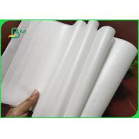 Quality 32 / 35 / 40grams MG White Kraft Paper FDA Roll Packaging For Packing Chips for sale