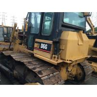 Quality Used Caterpillar D6G Crawler Second Hand Bulldozers Bought From CAT Company for sale