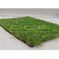 Quality Fire Resistance Dark Green Artificial Grass For Home Lawns With Stem 35mm for sale