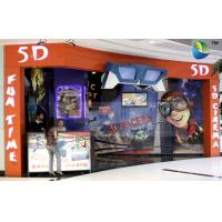Quality Special Design 5D Theater System With Cabin And Motion Theater Chair for sale
