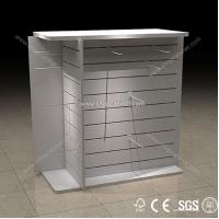 Quality Customized Wooden Garment Wall Display Racks for sale