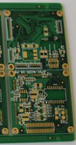 Quality Immersion Gold FR4 Tg170 4mil HDI PCB Board For Wireless Router for sale