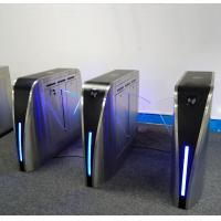 Buy IR Anti Pinch Turnstile Security Systems , Turnstile Gate With Card Reader 35W at wholesale prices
