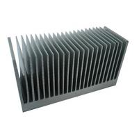 Quality Industrial Aluminum Heatsink Extrusion Profiles , with drill ,cutting ,tapping for sale
