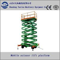Buy cheap Diesel mobile scissor lift table from wholesalers