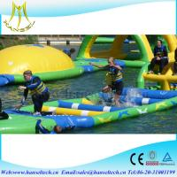Quality Hansel high quality inflatable wrestling ring for kids water toy for sale
