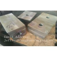 Buy cheap SA182 F316 F304 SForged Steel Products Forgings Block Solution Milled And from wholesalers