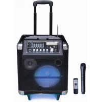Quality 40 Watt Led Light Rechargeable Trolley Speaker Outdoor Portable PA System for sale