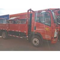 Quality High Attendance HOWO Light Tipper Truck With 4200*1810*400mm Cargo Body for sale
