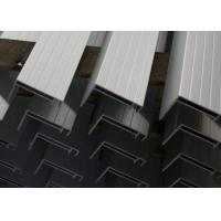 Quality Nautral Aluminum Solar Panel Frame 6063-T5 With Oxidized  / Anodizing for sale