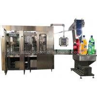 Quality Sparkling Mineral Water Production Line , Lemonade Mineral Water Bottling Plant for sale