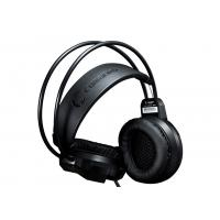 Buy Cool Backlight White & Black Stereo Gaming Headphone , gaming microphone headset for pc at wholesale prices