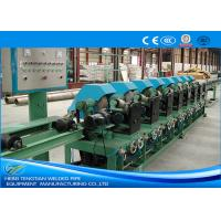 Quality Durable Steel Tube Making Machine , Stainless Steel Pipe Mill For Household Appliances for sale