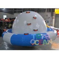Quality Blue / White Inflatable Turtle Water Saturn For Amusement Water Park Equipment for sale