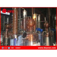 Buy industrial alcohol membrane automatic distillation column process at wholesale prices