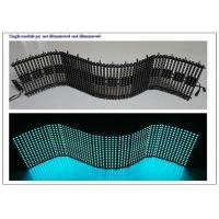 Quality OEM Flexible LED Panel with 4096Dots / m² pixel Density Synchronization Control for sale