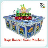 Quality 8P insect doctor bugs shooting animals catching gambling arcade fishing hunter machine for sale