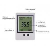 Quality Alarm Voice AI Doorbell AI Face Recognition Thermometer for sale