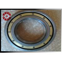 Quality Brass Caged Deep Groove Ball Bearings 6220 Bearing With C4 Clearance for sale