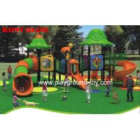Buy cheap Kids Playground Equipment , Park Entertainment Machine Red Blue from wholesalers