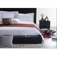 Quality Jacquard Fabric Hotel Bedding Sets , Hotel Collection 6 Piece Comforter Set for sale