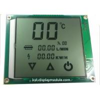 Quality Metal PINs LCD Panel Screen Customized TN Segment For Water Heater Positive for sale