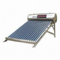 Quality Stainless steel solar water heating system with 27° angle for sale