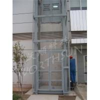 Quality 10t Guide Rail Freight Elevator hydraulic cargo platform lift for sale
