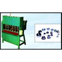 Quality 380V Full Automatic Nut Tapping Machine With Double Head , Green Color for sale