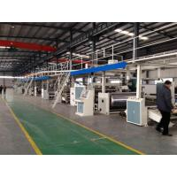Quality Seven Layer Corrugated Cardboard Making Machine Production Line 5 PLY-200-1800 Type for sale