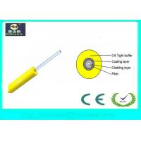 Duplex Indoor Fiber Optic Cable 0.6mm Tight Buffer PVC Jacket For Communication