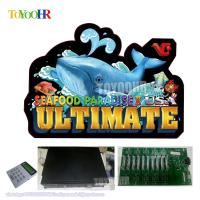 Quality VGAME Software Seafood paradise 2 USA Ultimate Arcade Cheat Hunter Fishing Shooting Machine for sale