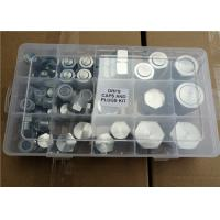 China Carbon Steel Machine Nut And Bolt Assortment Kits Zinc Plating M1 - M24mm Size on sale