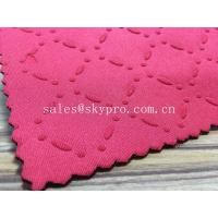 Quality Variable Profiles SBR Neoprene Rubber Sheet with Coin / Diamond / Stud Textured for sale