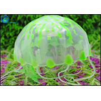 Quality Eco-Friendly Silicone Jellyfish Artifical Aquarium Decoration For Fish Tank for sale