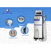 China 808nm Permanent Laser Hair Removal Machines / Hair Removal Equipment For All Types Skin on sale