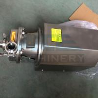 Quality SS304 316L Double Flushed Water Pump Centrifugal  304 316 beer pump for sale