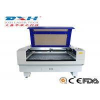 Quality Fabric / Leather Laser Engraving Machine 60 Watt Co2 Laser Engraver 0-800mm/S for sale