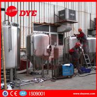 Buy Durable Beer Brewing Equipment Conical Fermenter 50mm 80mm 100mm Thickness at wholesale prices