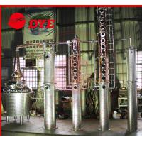 Quality Semi-Automatic Whiskey Distilling Equipment , Home Alcohol Distiller Machine for sale